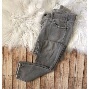 Current Elliott The Stiletto Gray Skinny Jeans 24